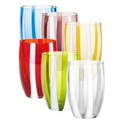 Gessato bicchiere acqua