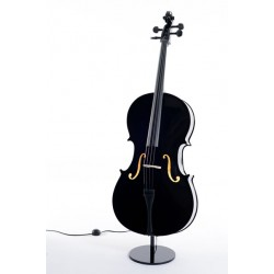 Lampada da terra Violoncello Black cello