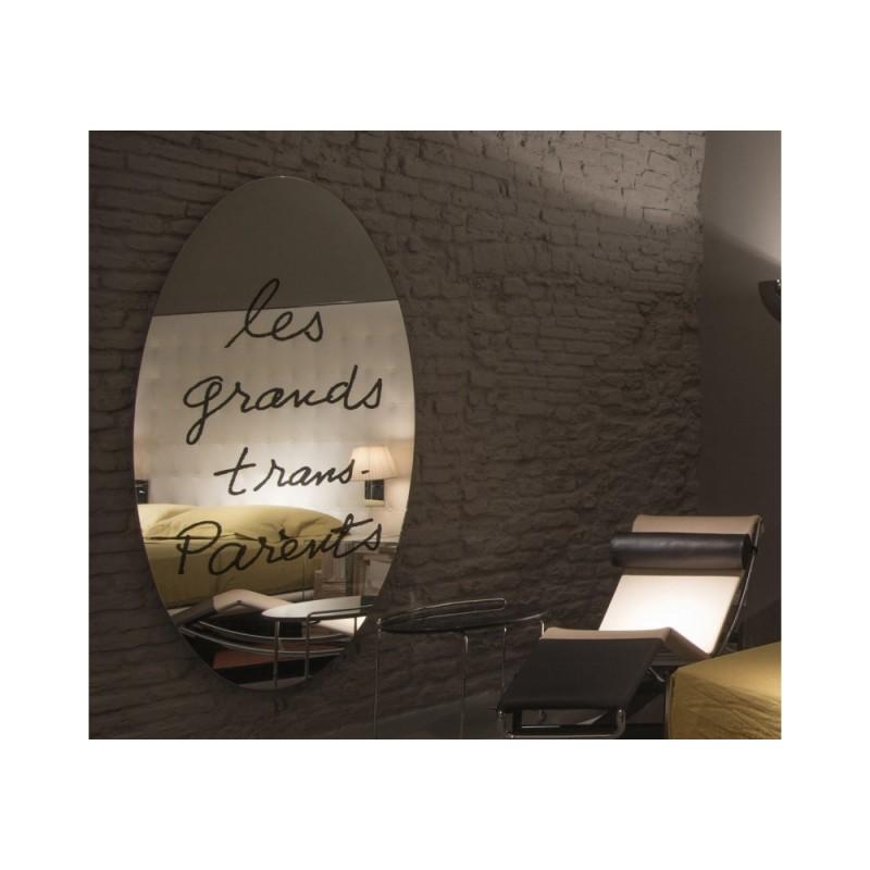 Specchio les grands trans parents cassina elite casa - Regalare uno specchio porta male ...