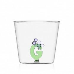 Greenwood bicchiere alfabeto