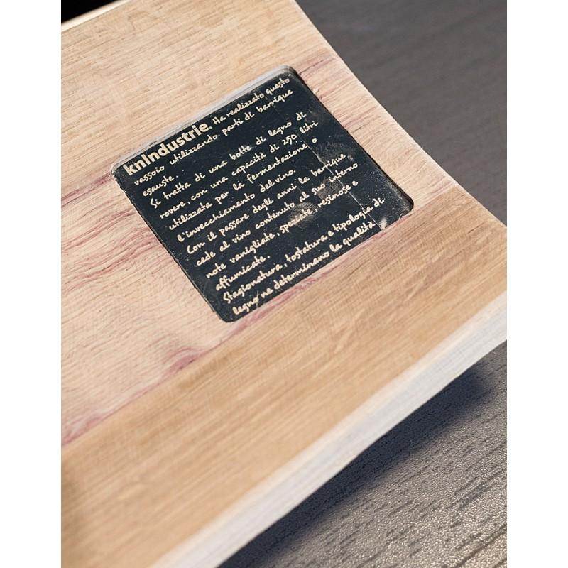 Tagliere in legno barrique nella categoria oggetti di design elite casa - Oggetti design legno ...