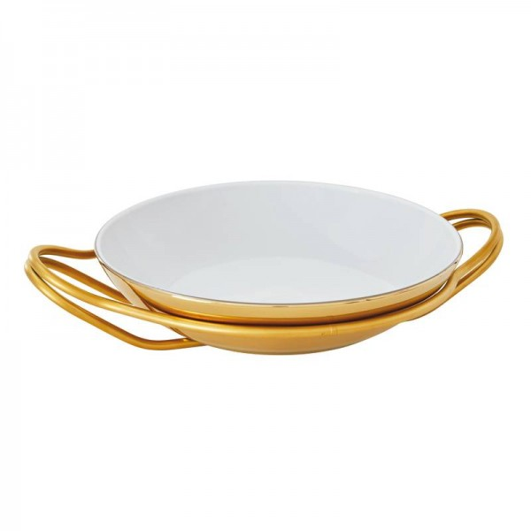 Living pvd gold mirror