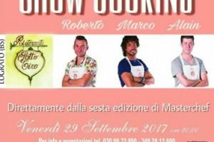 Show cooking Ristorante Sottotiro